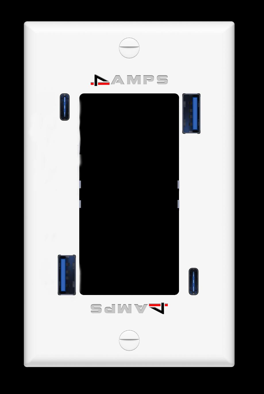 Quad (4 USB Ports)